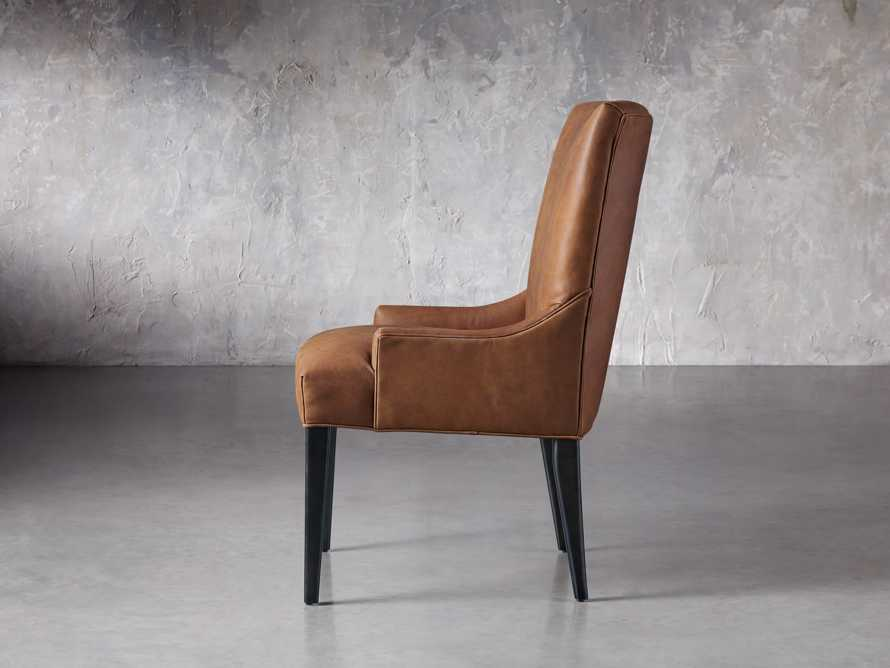 Rhen Leather Dining Side Chair, slide 4 of 8