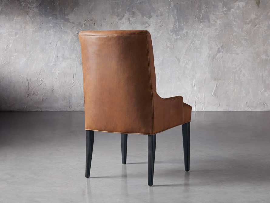 Rhen Leather Dining Side Chair, slide 5 of 8