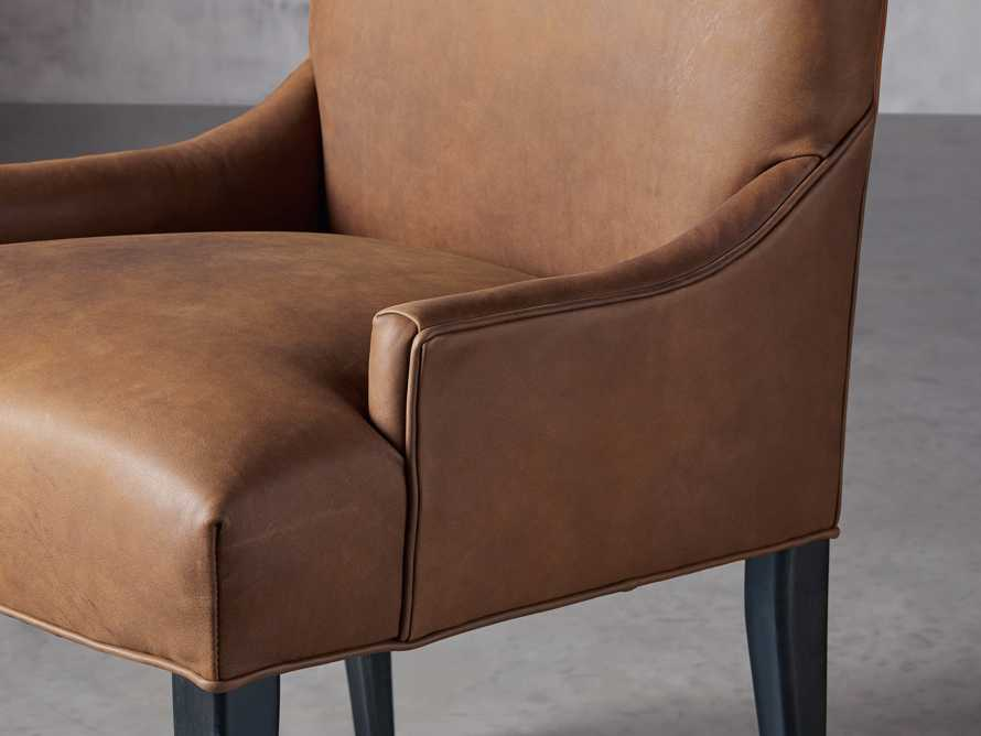 Rhen Leather Dining Side Chair, slide 6 of 8