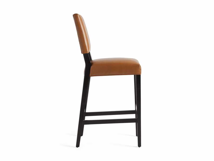 "Teddi Leather 20"" Barstool, slide 9 of 9"
