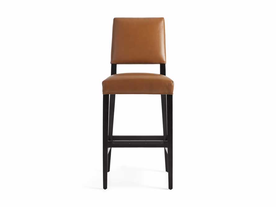 "Teddi Leather 20"" Barstool, slide 8 of 9"