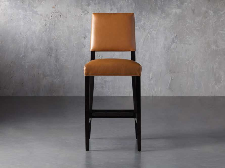 "Teddi Leather 20"" Barstool, slide 2 of 9"