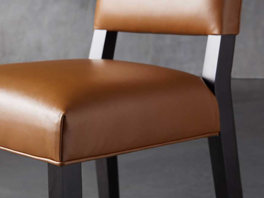 "Teddi Leather 20"" Barstool, slide 6 of 9"