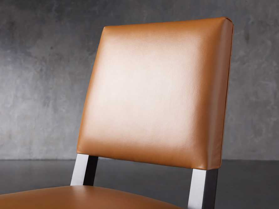 "Teddi Leather 20"" Barstool, slide 7 of 9"