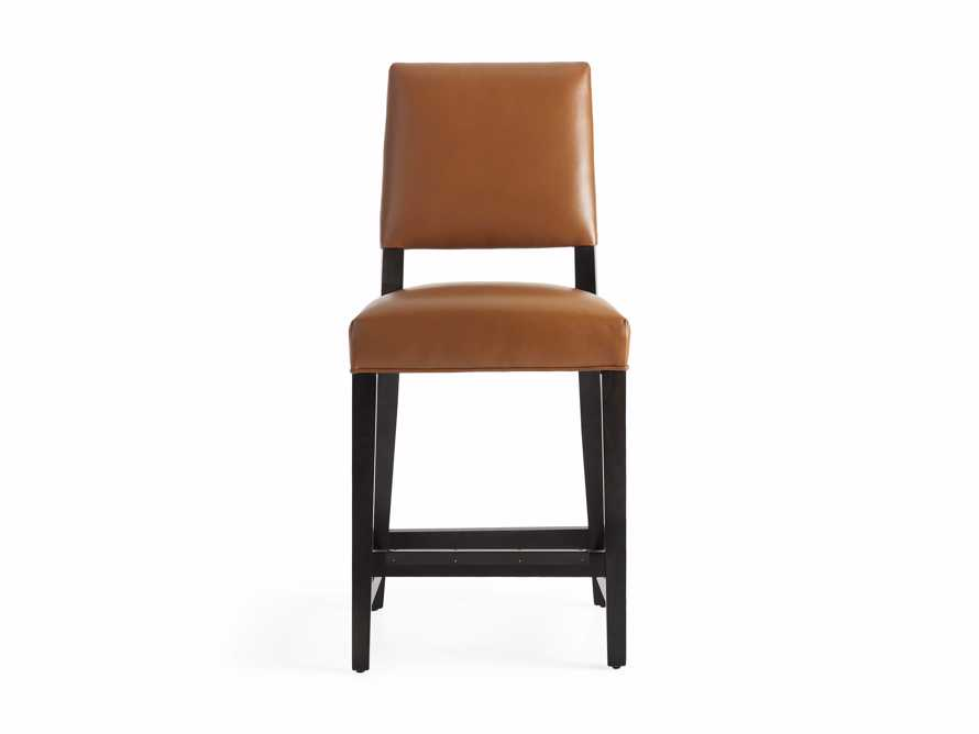 "Teddi Leather 20"" Counter Stool, slide 8 of 9"