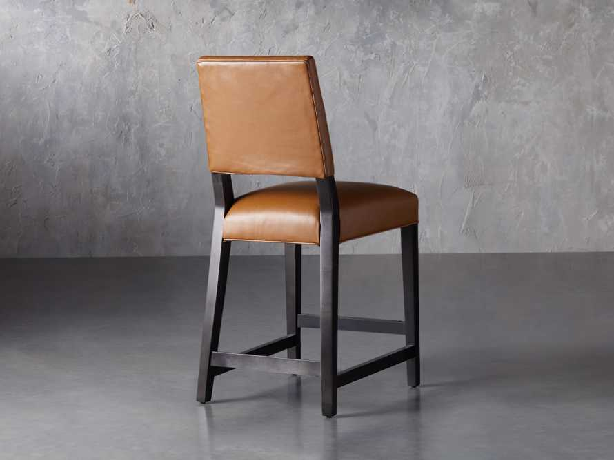 "Teddi Leather 20"" Counter Stool, slide 5 of 9"
