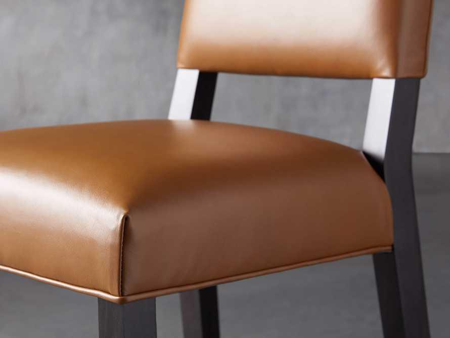 Teddi Leather Counter Stool, slide 6 of 9