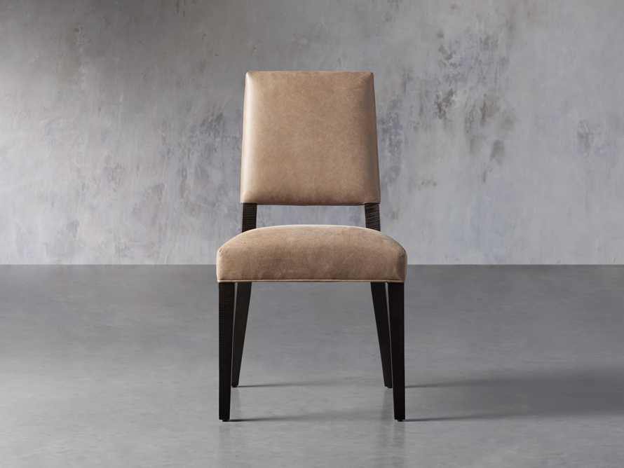 Teddi Leather Dining Chair, slide 2 of 6