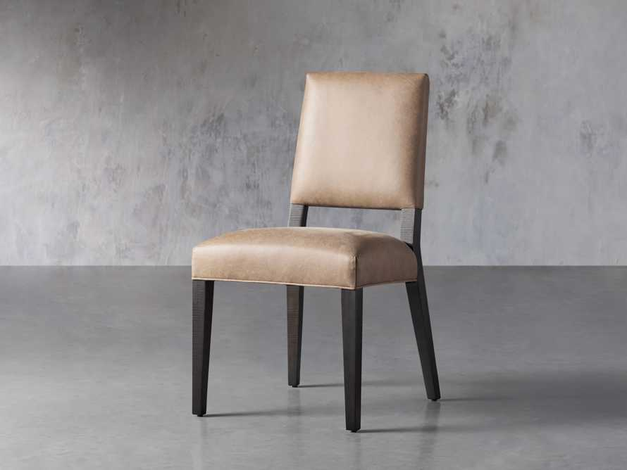 Teddi Leather Dining Chair, slide 3 of 6