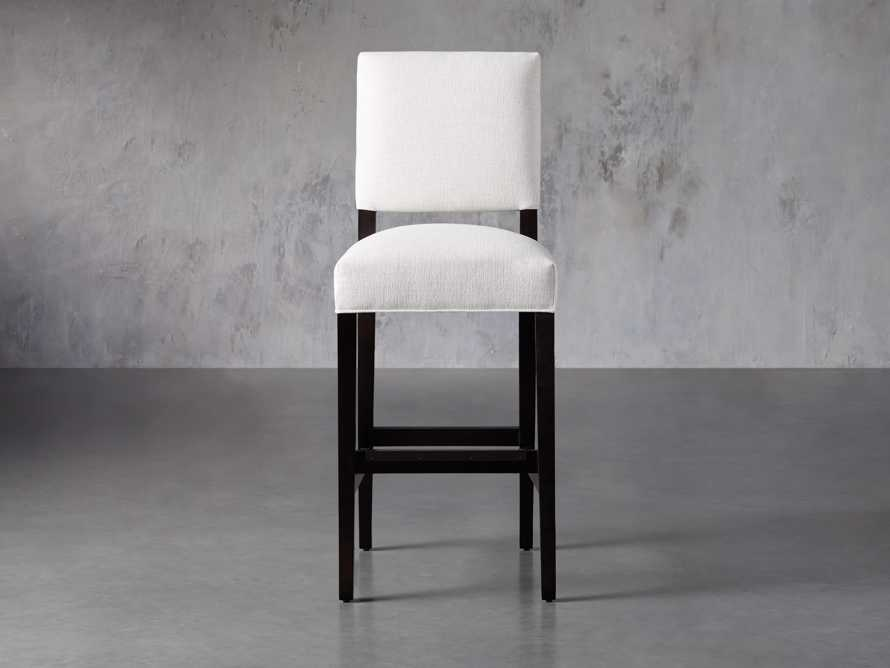 Torino Upholstered Barstool, slide 2 of 8