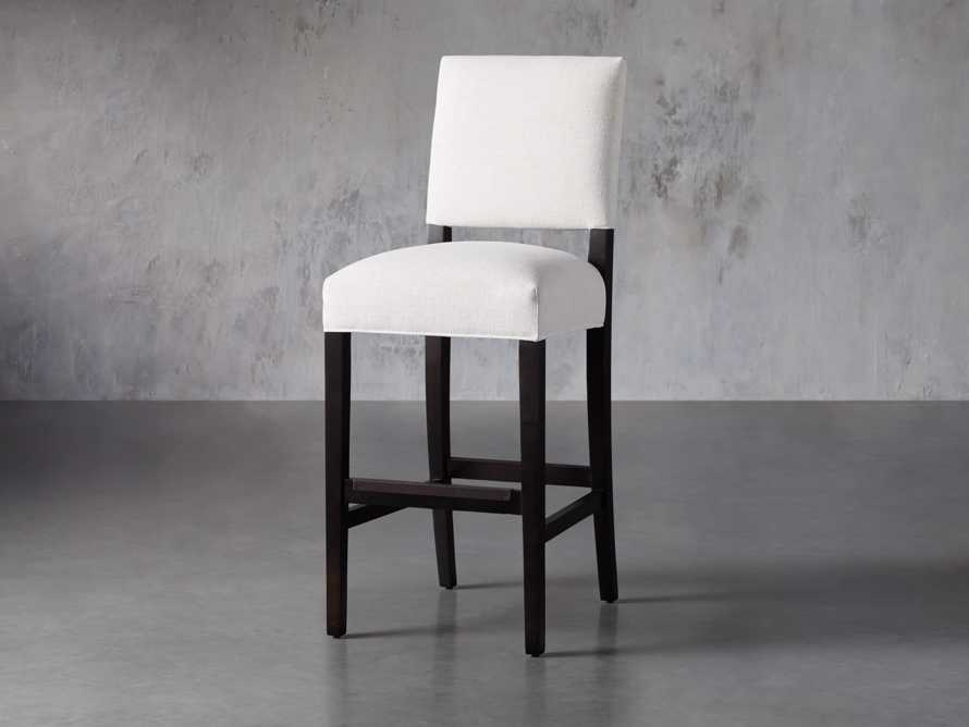 Torino Upholstered Barstool, slide 3 of 8