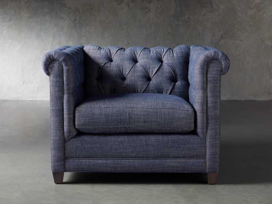 """VanGogh Upholstered 46"""" Chair 1/2, slide 2 of 10"""