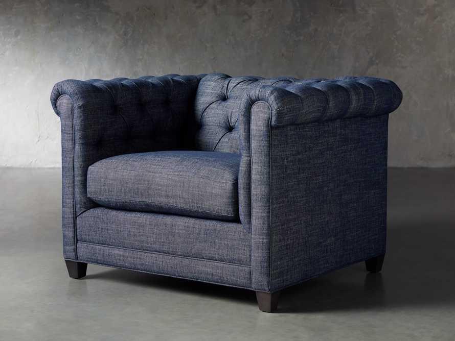 """VanGogh Upholstered 46"""" Chair 1/2, slide 3 of 10"""