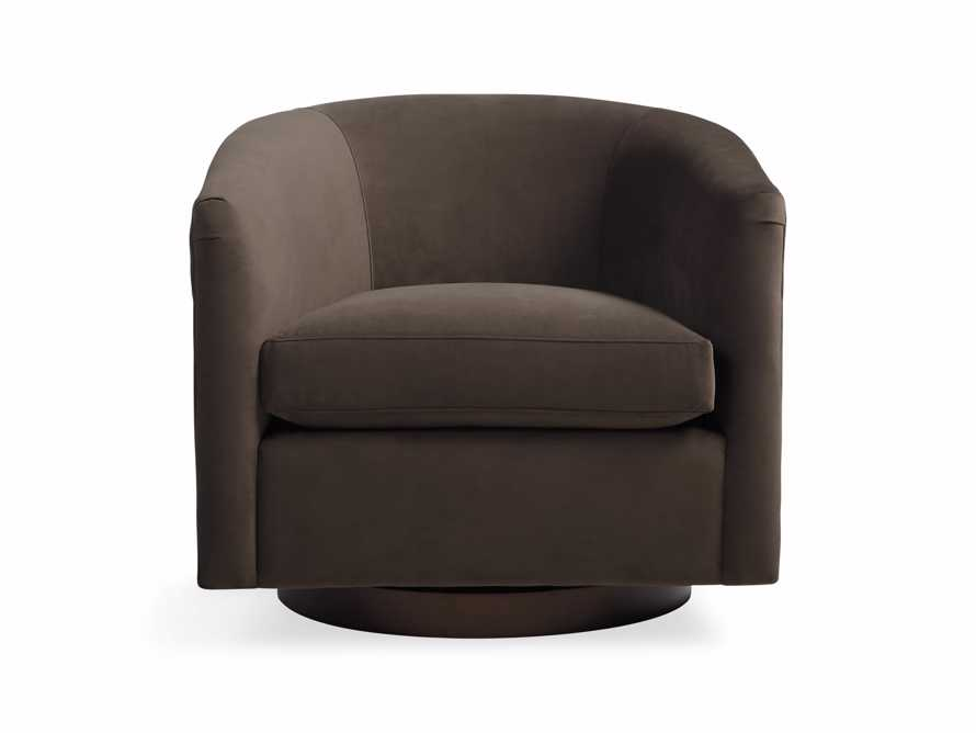 "Bowan 34"" Upholstered Swivel Chair, slide 1 of 5"