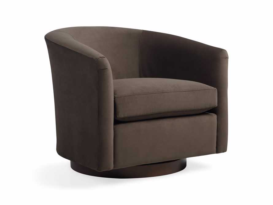 "Bowan 34"" Upholstered Swivel Chair, slide 2 of 5"
