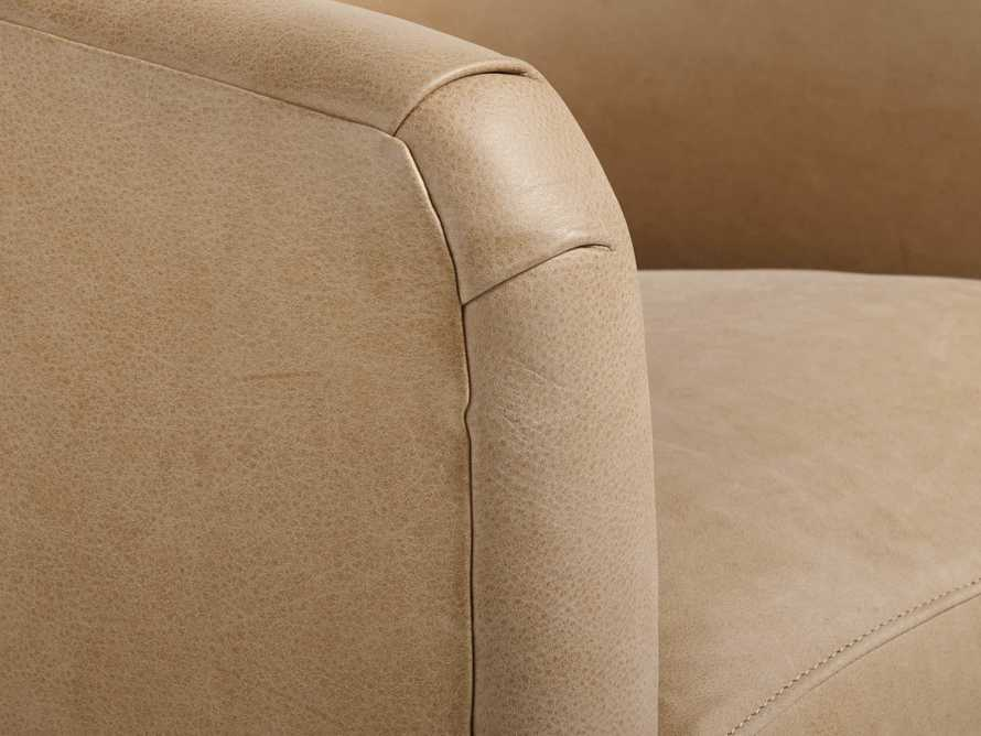 "Bowan 34"" Leather Swivel Chair, slide 6 of 6"