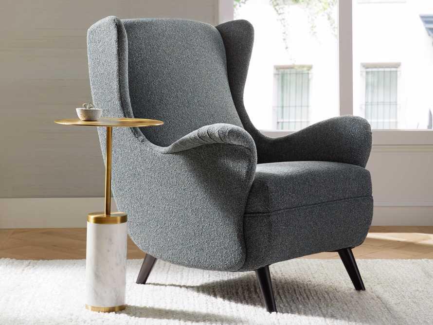 "Wesley Upholstered 31"" Chair, slide 1 of 9"