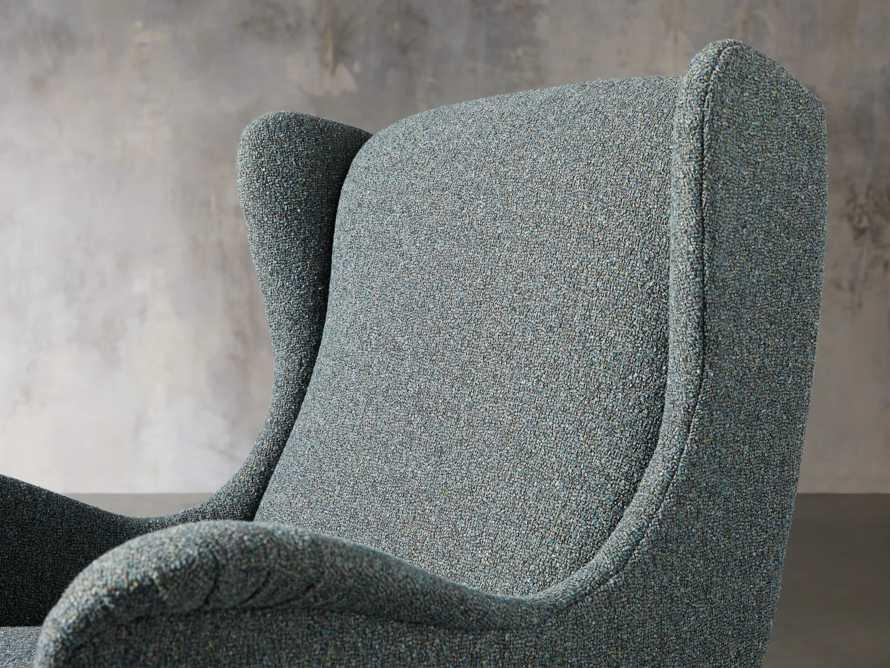 "Wesley Upholstered 31"" Chair, slide 6 of 9"