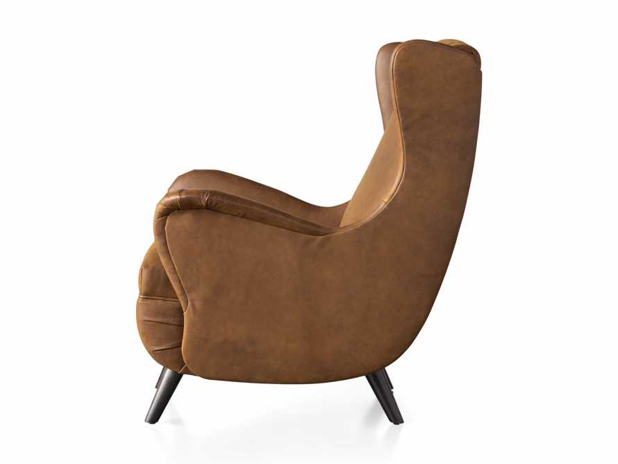 """Wesley Leather 31"""" Chair, slide 9 of 9"""