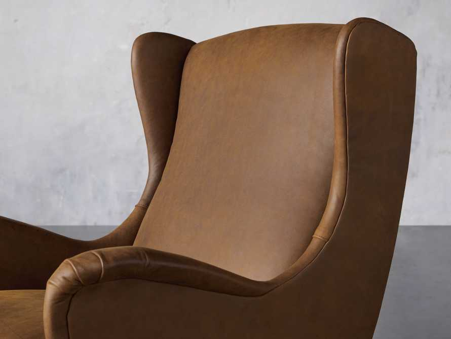 """Wesley Leather 31"""" Chair, slide 7 of 9"""