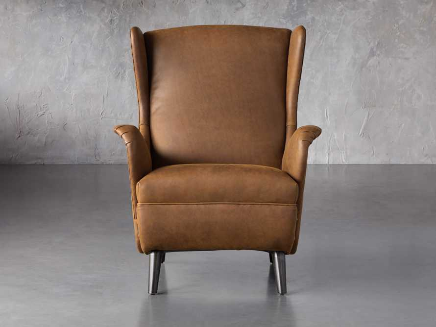 """Wesley Leather 31"""" Chair, slide 3 of 9"""