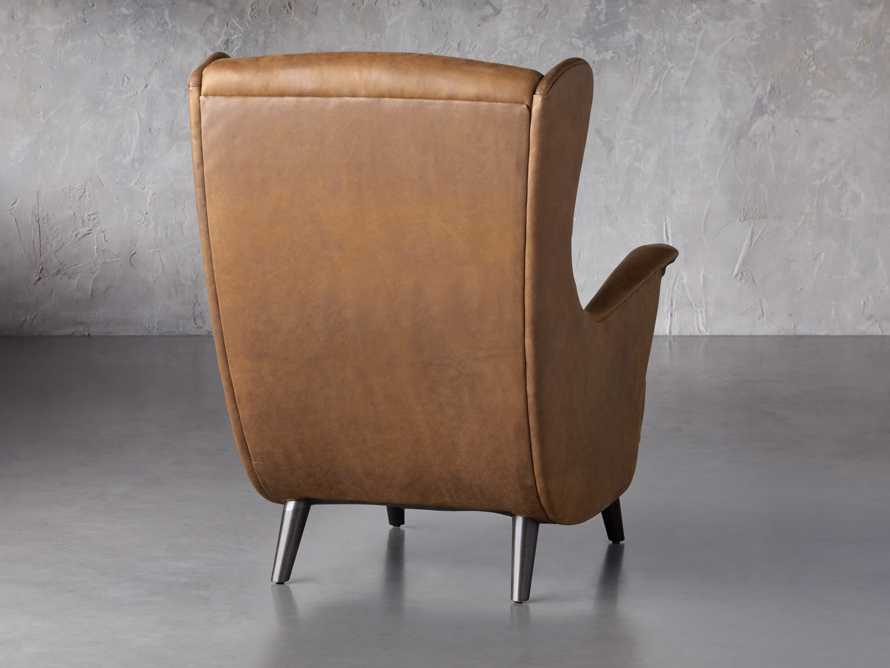 """Wesley Leather 31"""" Chair, slide 6 of 9"""