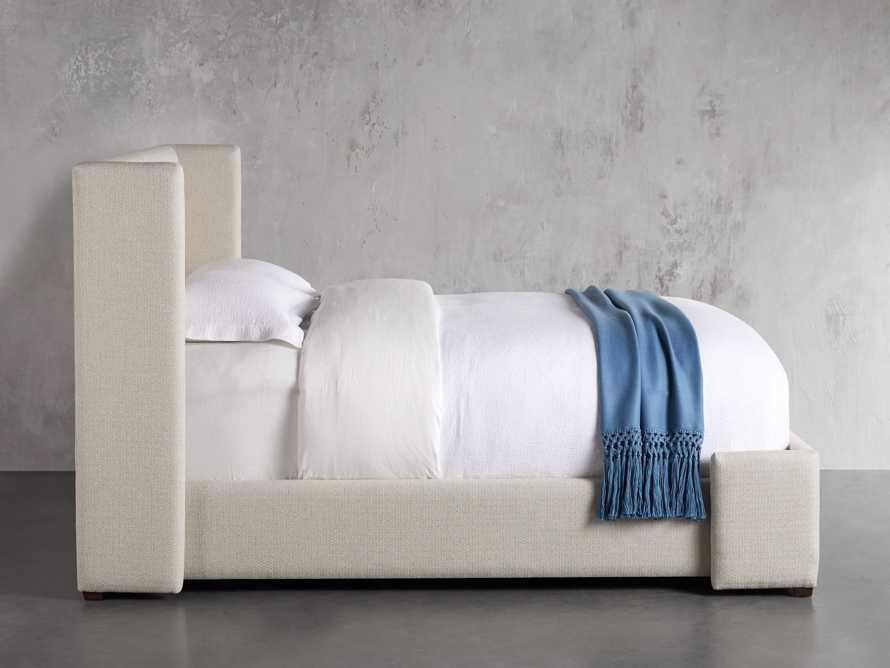 "Wyller Upholstered 52"" Queen Bed in Howell Oatmeal, slide 3 of 10"