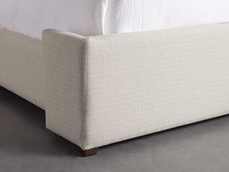 "Wyller Upholstered 52"" Queen Bed in Howell Oatmeal, slide 6 of 10"