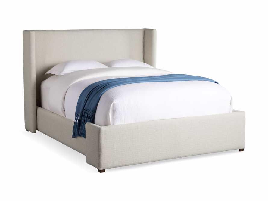 """Wyller Upholstered 52"""" King Bed in Howell Oatmeal, slide 8 of 10"""