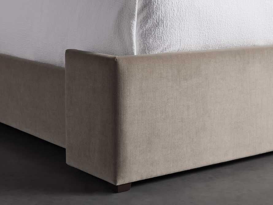 "Wyller Upholstered 52"" King Bed in Veronica Latte, slide 4 of 9"