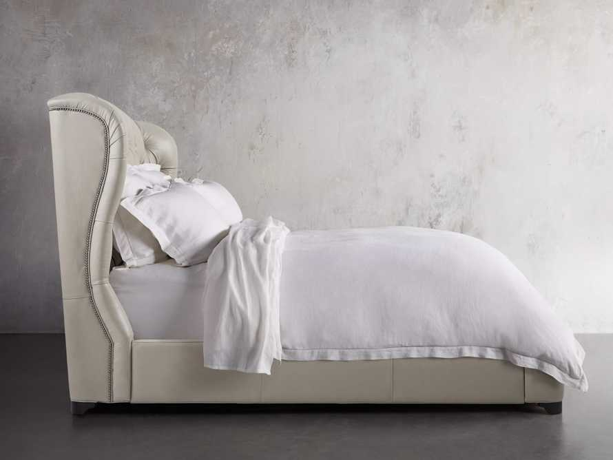 """Mariah Leather 64"""" Queen Bed, slide 3 of 6"""