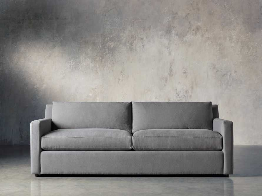 "Monroe Upholstered 95"" Sofa, slide 2 of 8"