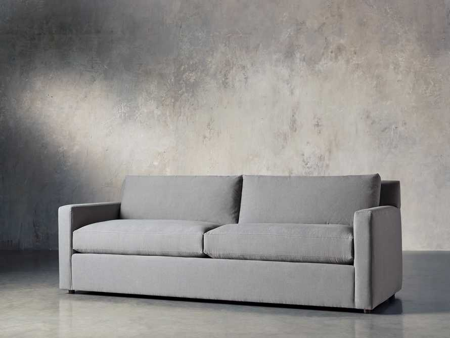 "Monroe Upholstered 95"" Sofa, slide 3 of 8"