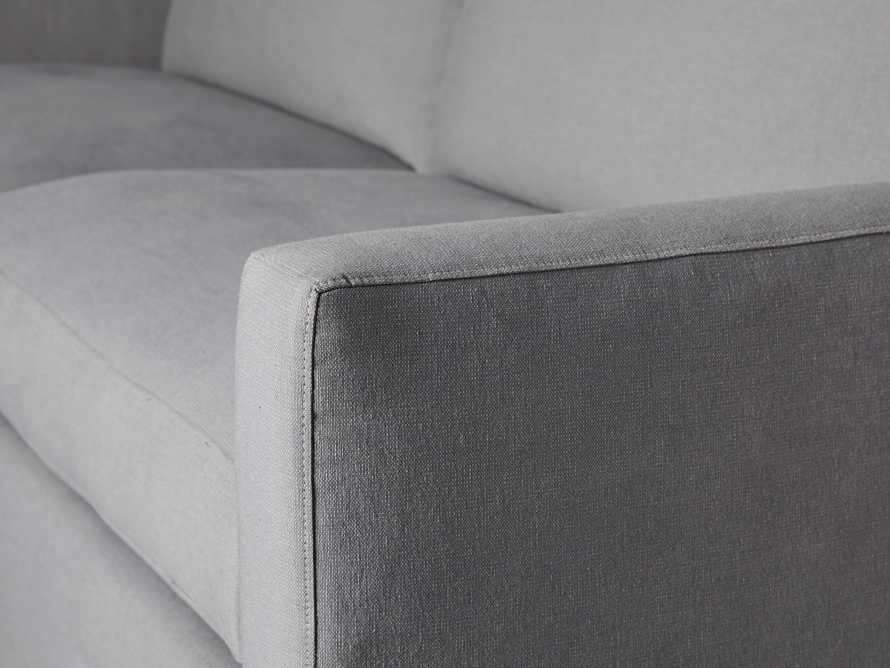 "Monroe Upholstered 95"" Sofa, slide 6 of 8"