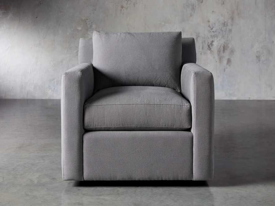 """Monroe Upholstered 35"""" Swivel Chair, slide 2 of 7"""