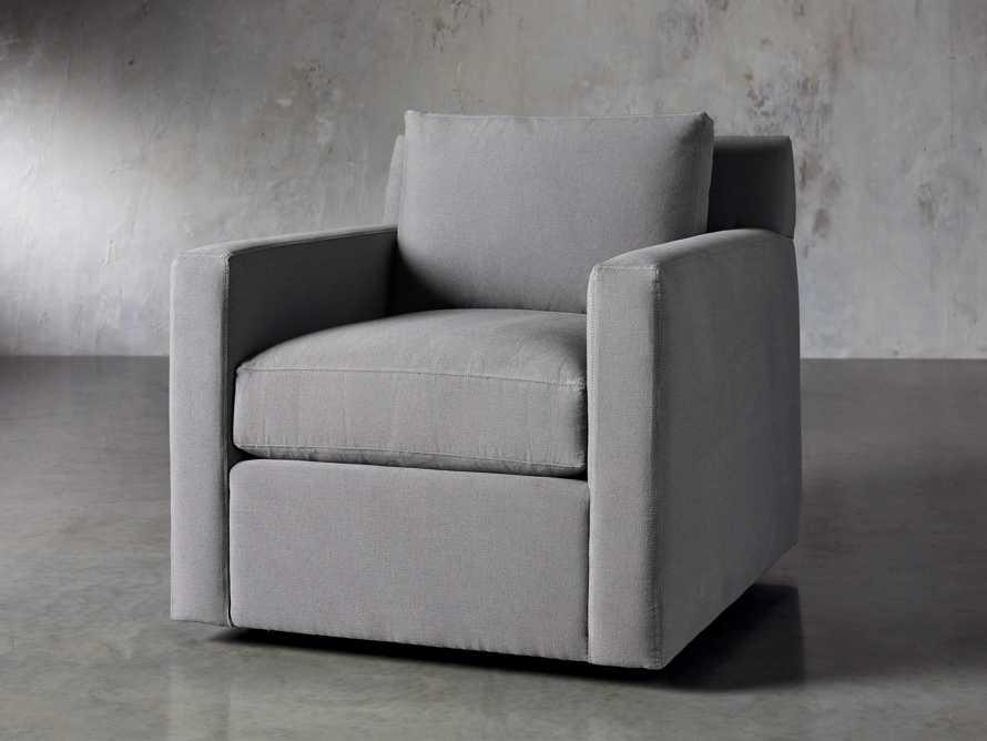 """Monroe Upholstered 35"""" Swivel Chair, slide 3 of 7"""