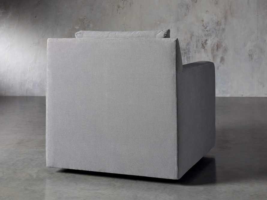 """Monroe Upholstered 35"""" Swivel Chair, slide 5 of 7"""