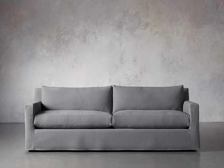 """Monroe Slipcovered 95"""" Sofa, slide 1 of 8"""
