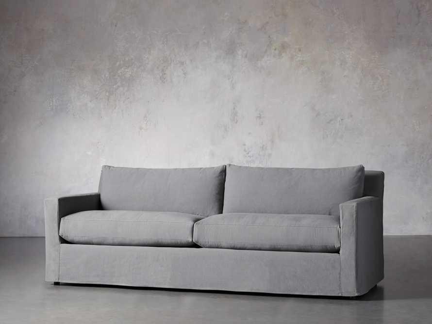 """Monroe Slipcovered 95"""" Sofa, slide 2 of 8"""