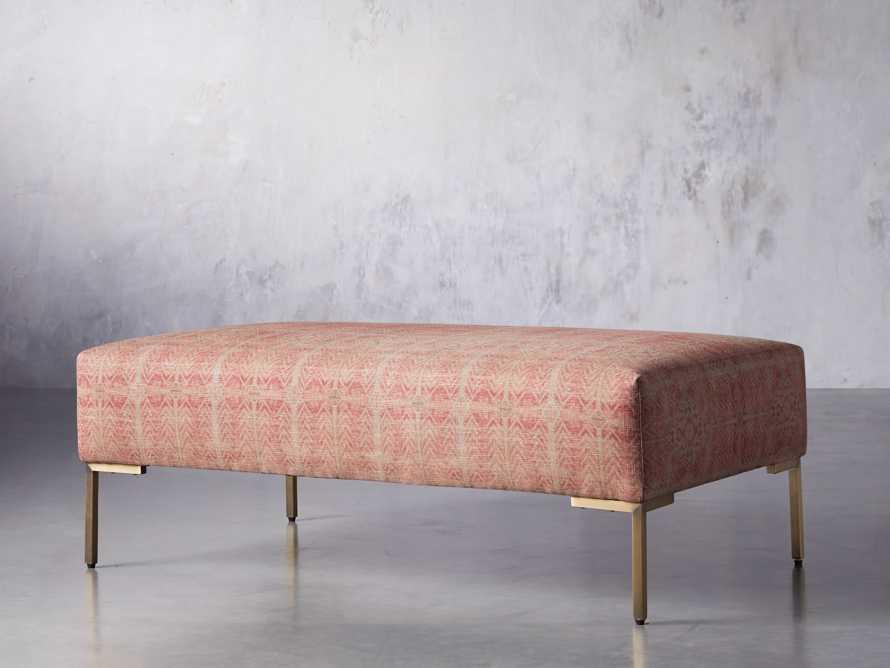 """Tilton Upholstered 30"""" Rectangle Ottoman, slide 3 of 8"""