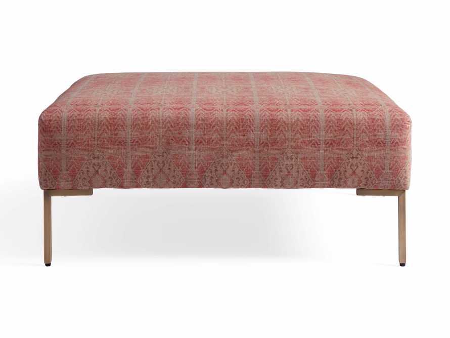 """Tilton Upholstered 40"""" Square Ottoman, slide 6 of 7"""