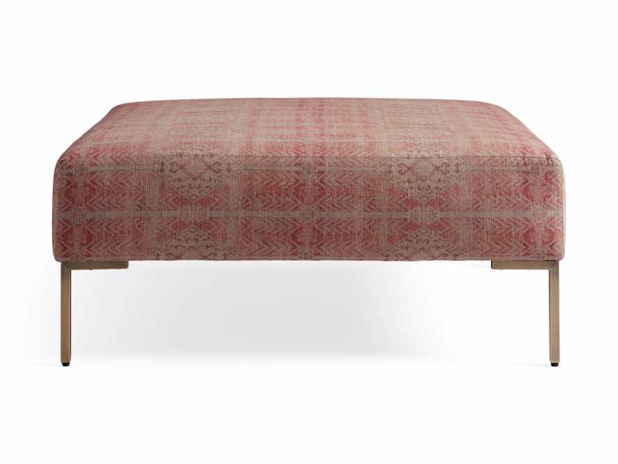 """Tilton Upholstered 40"""" Square Ottoman, slide 7 of 7"""