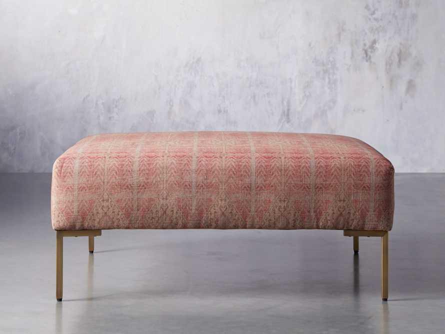 """Tilton Upholstered 40"""" Square Ottoman, slide 2 of 7"""