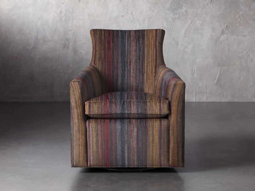 "Juniper Upholstered 29"" Swivel Chair, slide 1 of 7"