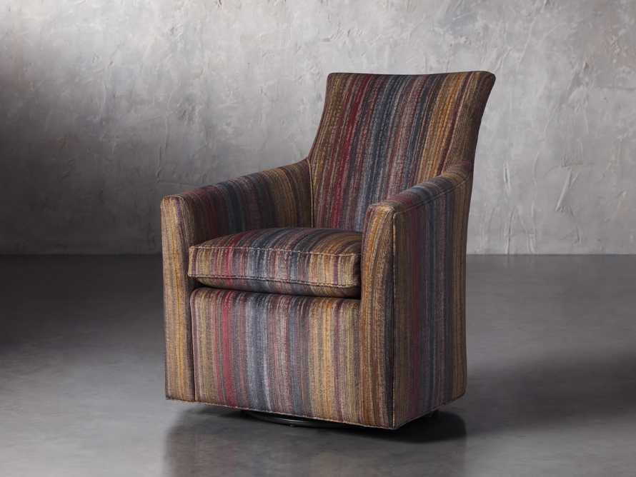 "Juniper Upholstered 29"" Swivel Chair, slide 2 of 7"