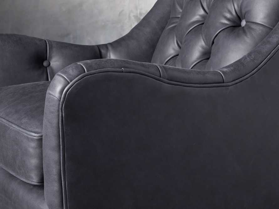 """Lamont Leather 33"""" Chair, slide 6 of 8"""