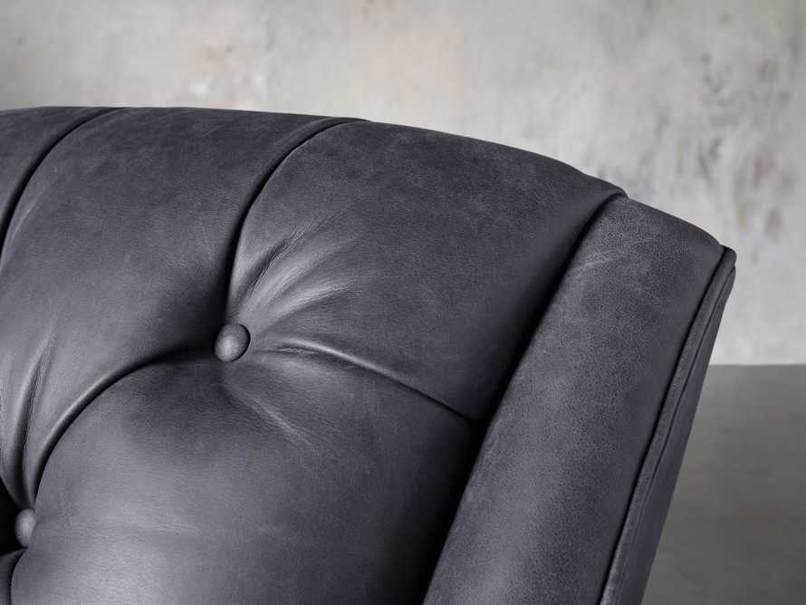 """Lamont Leather 33"""" Chair, slide 7 of 8"""