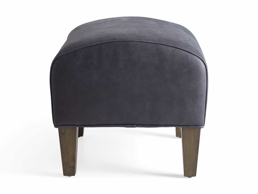 "Lamont Leather 22"" Ottoman, slide 7 of 7"