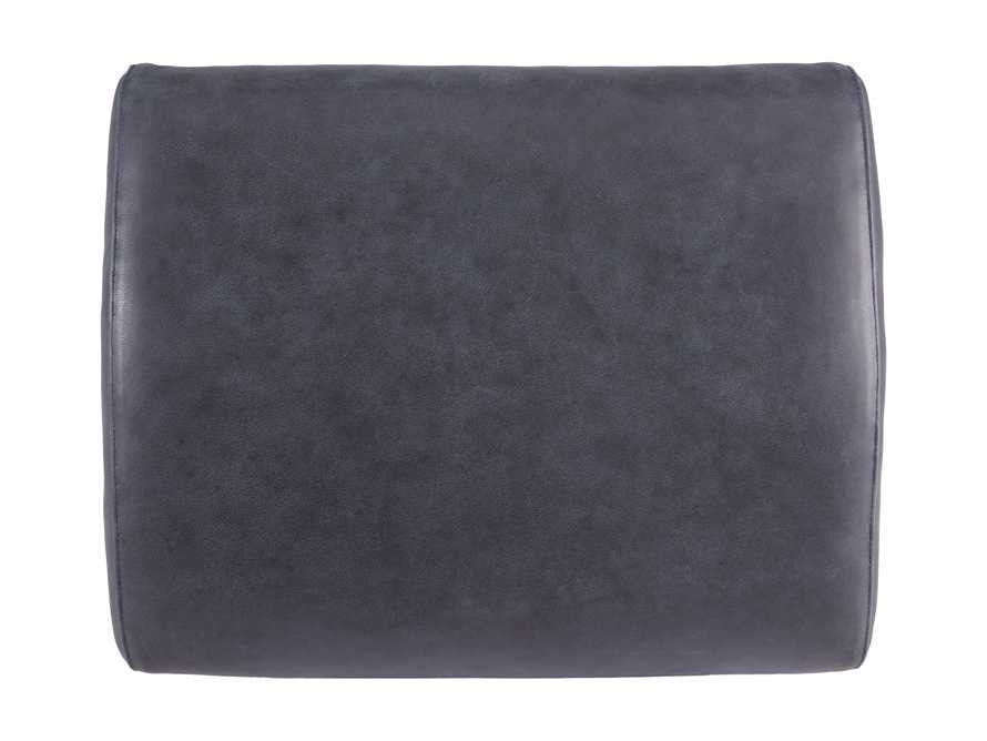 "Lamont Leather 22"" Ottoman, slide 5 of 7"