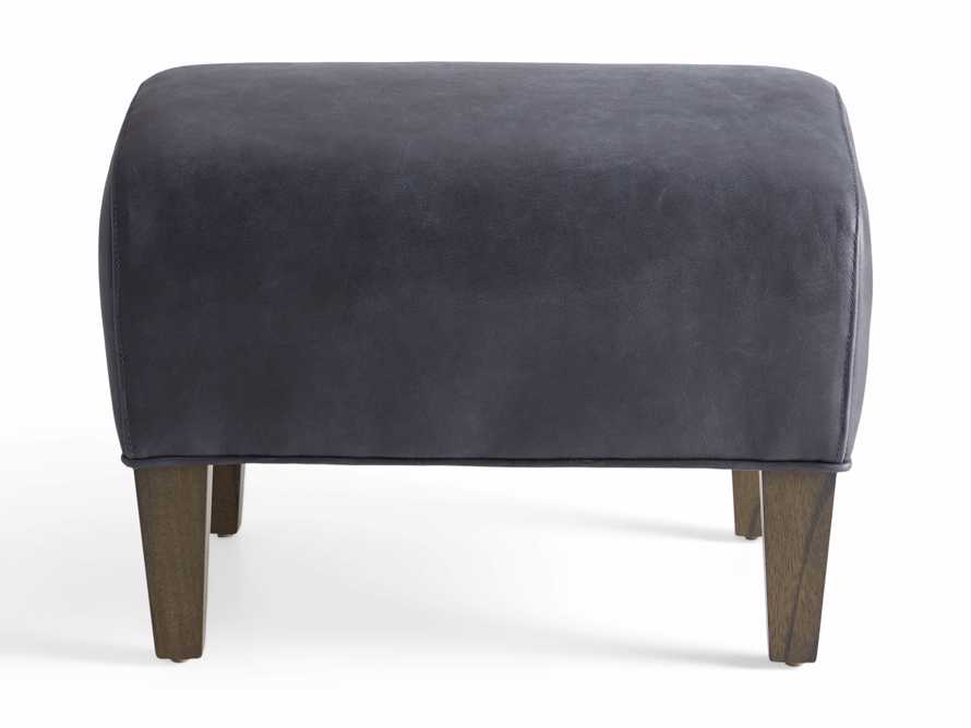 "Lamont Leather 22"" Ottoman, slide 6 of 7"